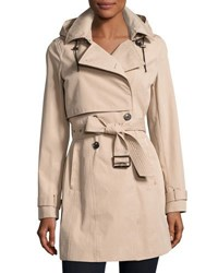 Marc New York Taylor Tech Cotton Trench Coat Black