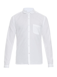 Oliver Spencer Eton Collar Cotton Pique Shirt