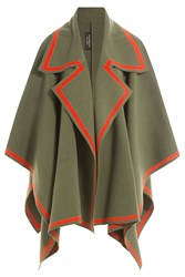 Burberry Shoes And Accessories Wool Cape With Cashmere Multicolor