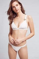 Anthropologie Zulu And Zephyr North Beach Bikini Set White