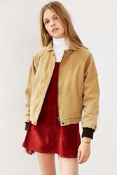 Obey Fort Dodge Cord Collar Jacket Tan