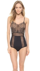 For Love And Lemons Infinity Bodysuit Black