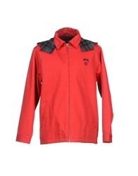 Minimal Coats And Jackets Jackets Men Red