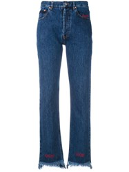 Forte Couture Lovers Haters Jeans Women Cotton 26 Blue