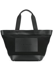 Alexander Wang Canvas Tote Cotton Leather Black