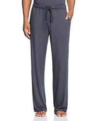 Daniel Buchler Cotton Lounge Pants Charcoal