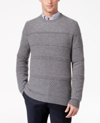 Alfani Men's Cashmere Sweater Only At Macy's Oxford Heather