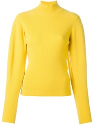Thierry Mugler Tapered Sleeves Sweatshirt Yellow And Orange