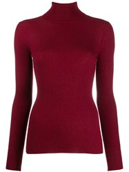 Snobby Sheep Turtle Neck Jumper Red