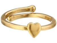 Kate Spade Things We Love Heart Adjustable Ring Gold Ring