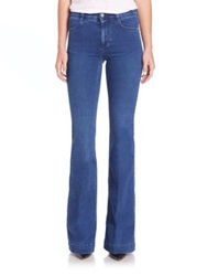 Stella Mccartney The 70S Flared Jeans Blue Whale