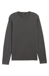 1ec30a419cf6b French Connection Milano Front Regular Fit Cotton Sweater Charcoal Melange