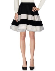 Mnml Couture Skirts Knee Length Skirts Black