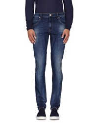 Love Moschino Denim Denim Trousers Men Blue