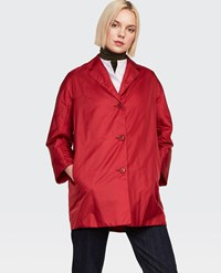 Aspesi Raincoat Pan Di Spagna Red
