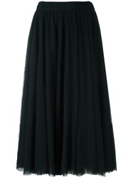 Essentiel Antwerp Flared Tulle Skirt Black