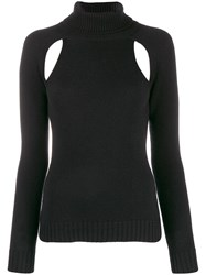 Tom Ford Cut Out Knitted Top Black