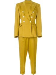 Jean Paul Gaultier Vintage Two Piece Trouser Suit Yellow And Orange