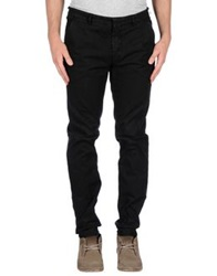Manuel Ritz White Casual Pants Black