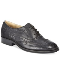 Wanted Babe Lace Up Oxfords Women's Shoes Black
