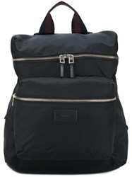 Paul Smith Striped Handle Backpack Black