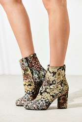 Urban Outfitters Emma Jacquard Ankle Boot Blue Multi