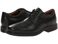 Rockport Dressports Luxe Plain Toe Ox Black Men's Plain Toe Shoes