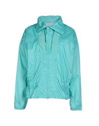 Adidas By Stella Mccartney Jackets Light Green