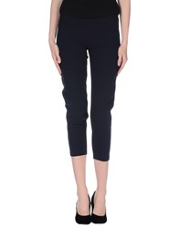 Elisabetta Franchi Trousers 3 4 Length Trousers Women Dark Blue