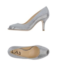 L.A.B Pumps With Open Toe Light Pink