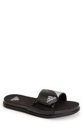 Adidas 'Supercloud Plus' Slide Sandal Men Black Silver
