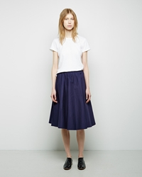 Organic By John Patrick Full Skirt Marine