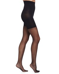 Spanx High Waisted Luxe Sheer Tights Women's Very Black