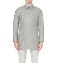 Reiss Retrograde Wool Blend Coat Grey