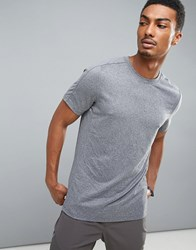 Perry Ellis 360 Sports T Shirt In Grey Marl Alloy Heather