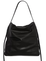 Rick Owens Small Leather Hobo Bag