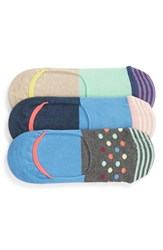 Happy Socks 3 Pack Liner Assortment