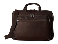 Kenneth Cole Reaction Point Of De Port Ure Computer Portfolio Brown Briefcase Bags