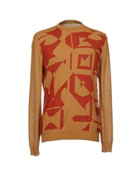 Private Lives Sweaters Camel