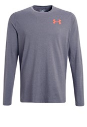 Under Armour Long Sleeved Top Carbon Heather Grey