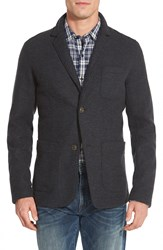 Timberland 'Hoosack River' Knit Two Button Blazer Black Heather