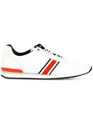 Paul Smith Ps By Side Stripe Sneakers White