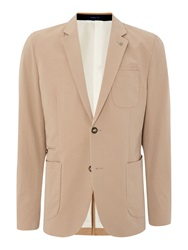 Peter Werth Sorcha Button Blazer Sand