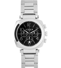 Links Of London Brompton Bracelet Strap Chronograph Watch Black