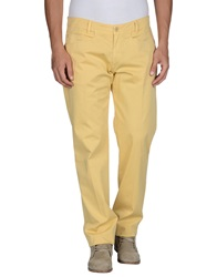 Tru Trussardi Casual Pants Light Yellow