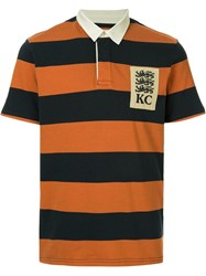 Kent And Curwen Hale Polo Shirt Orange