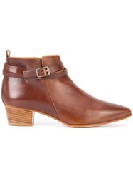 Alberto Fermani Vana Ankle Boots Brown