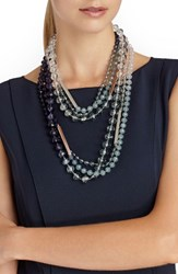 Lafayette 148 New York Women's Ombre Bead Necklace
