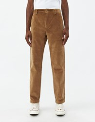 Norse Projects Albin Corduroy Pant In Utility Khaki