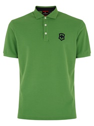 Victorinox Tivoli Plain Regular Fit Polo Shirt Green